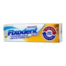 Fixodent Pro Crème Fixatrice Duo Action 40 g