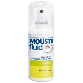 Moustifluid Essence De Citronnelle De Chine 75 ml