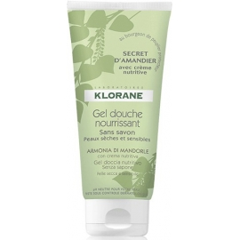 "Klorane Gel Douche Surgras ""Secret d'Amandier"" 200 ml"