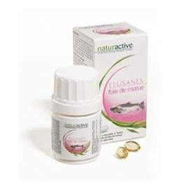 Naturactive Elusanes huile de foie de morue 30 capsules