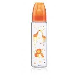 "Dodie ""Mon Biberon"" En Plastique Safarie Orange 330 ml"