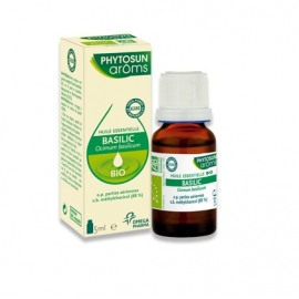 Phytosun Aroms Huile Essentielle Basilic Bio 5 ml
