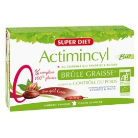 Super Diet Actimincyl Bio Brûle Graisse 20 ampoules x 15 ml