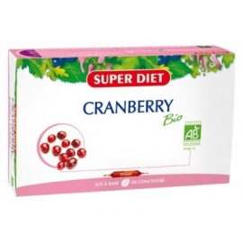 Super Diet Cranberry Bio Antioxydant 20 Ampoules