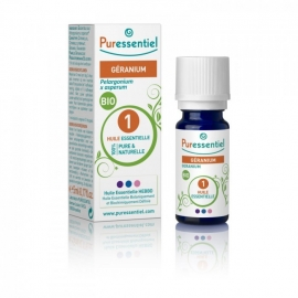 Puressentiel Huile Essentielle Bio de Géranium 10 ML