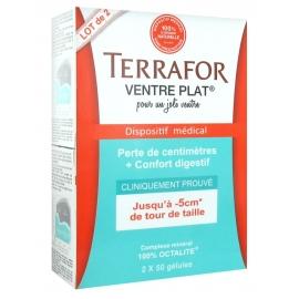 Terrafor Ventre plat 2 x 50 gélules
