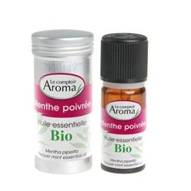 Le Comptoir Aroma Huile Essentielle Bio Menthe Poivree 10 ML