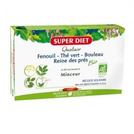 Super Diet Quatuor Minceur Bio 20 ampoules
