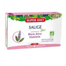 Super Diet Sauge Bio 20 ampoules