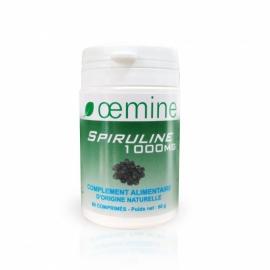 Oemine Spiruline 1000 mg 60 comprimés