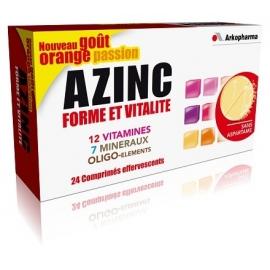 Arkopharma Azinc Forme et Vitalité Comprimés effervescents x 24