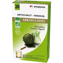 Arkopharma Arkofluides Bio Artichaut - Fenouil 20 Ampoules