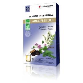 Arkopharma Arkofluides Bio Transit 20 Ampoules