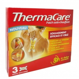 Thermacare Patch Chauffant Antidouleur Multi-zones 3 Patchs