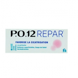 P.O. 12 Repar Crème Barrière Favorise la Cicatrisation 20 g