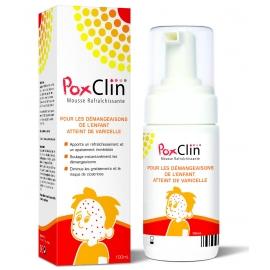 PoxClin Mousse Rafraîchissante 100 ml