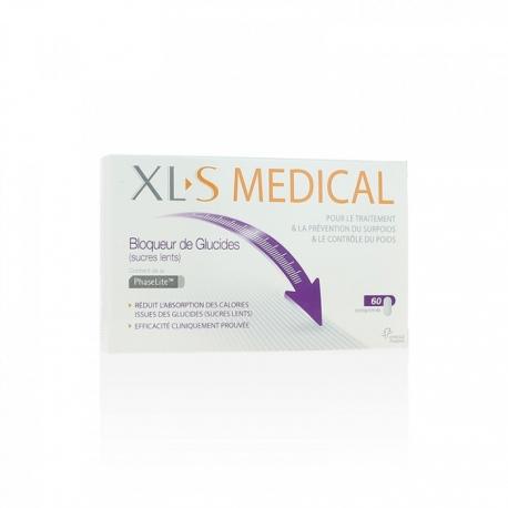Xls Medical Bloqueur de Glucides 60 Comprimes