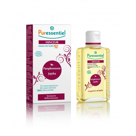 Puressentiel Huile de Massage Bio Minceur 100 ml