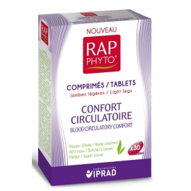 Rap Phyto Confort Circulatoire 30 Comprimés