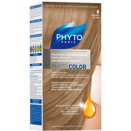 Phyto PhytoColor coloration permanente 8 Blond Clair