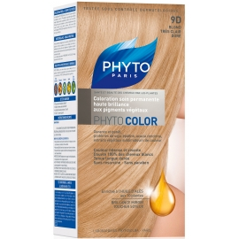 Phyto PhytoColor coloration permanente 9D Blond Tres Clair Dore