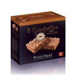 Protifast 8 Gaufrettes Saveur Chocolat