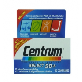 Centrum Select 50+ 30 comprimés