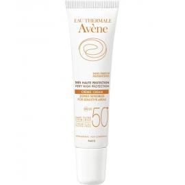 Avène solaire Spf 50+ Crème Zones Sensibles minérale 15 ml