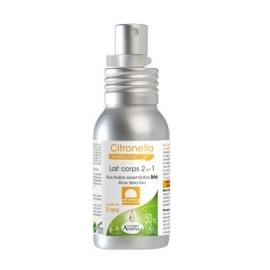 Le Comptoir Aroma Citronella Soirées d'Eté Lait corps 2 en 1 Bio 50 ml