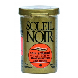 Soleil Noir Soin Vitaminé Indice 4 Pot 20 ml