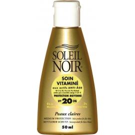 Soleil Noir Soin Vitaminé SPF 20 - 50 ml