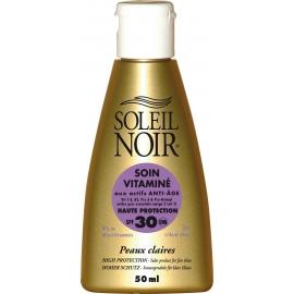 Soleil Noir Soin Vitamine Spf 30 - 50 ml