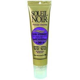 Soleil Noir Soin Vitaminé Crème SPF30 tube 20 ml + Stick Spf 30 2 g