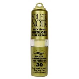Soleil Noir Stick Lèvres Incolore Spf30 - 4g