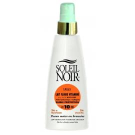 Soleil Noir Lait Fluide Vitamine Spf 10 Spray 150 ml