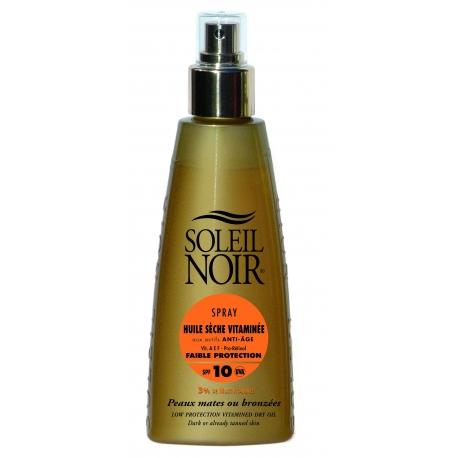 Soleil Noir Huile Sèche Vitaminée Spf 10 Spray 150 ml
