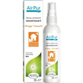 Le Comptoir Aroma Air Pur Spray Ambiant assainissant Bio Orange - Cannelle 200 ml