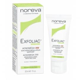 Noreva Exfoliac Acnoméga 200 Soin kérato-régulateur matifiant 30 ML