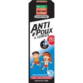 Cinq sur Cinq Natura Anti-poux & Lentes Shampoing 100 ml
