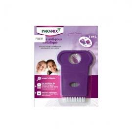 Paranix Peigne Métallique Anti-poux 3 en 1