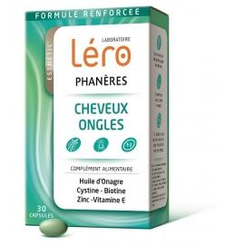 Léro PHANERES Cheveux et Ongles 30 Capsules