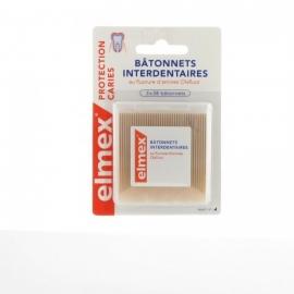 Elmex Protection Caries Bâtonnets Interdentaires 3 x 38