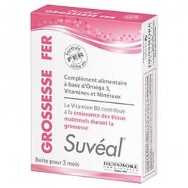 Suvéal Grossesse Fer 90 capsules