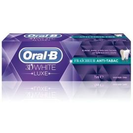 Oral-B 3D White Luxe Fraîcheur Anti-Tabac 75 ML