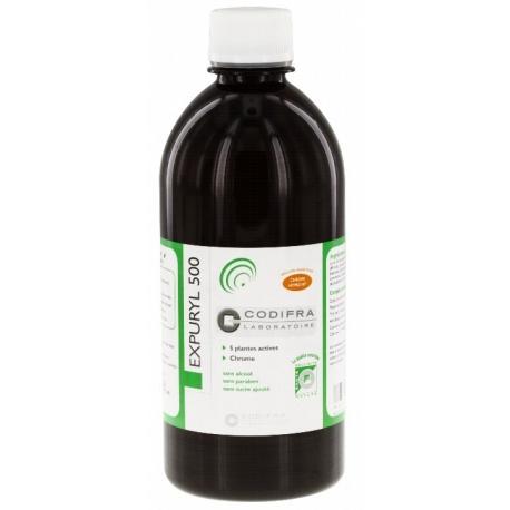 Codifra Expuryl 500 - Phytodraineur - Détoxiquant 500 ml