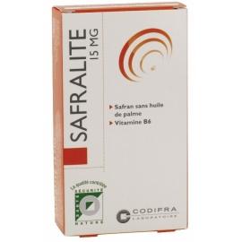 Codifra Safralité 15mg - Humeur 28 Gélules