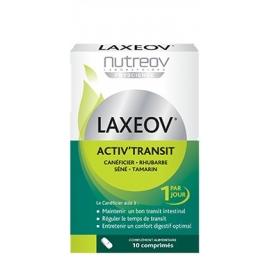 Nutreov Physcience Laxeov Activ'Transit 10 comprimés