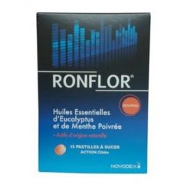 Ronflor Pastilles à Sucer Anti-ronflement x 15