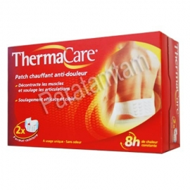 THERMACARE PATCH CHAUFFANT ANTIDOULEUR CEINTURE 2 PATCHS