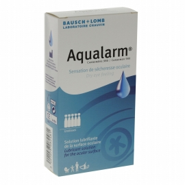 Bausch + Lomb Aqualarm Solution Lubrifiante 20 x 0.6 ml